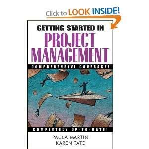 in Project Management (9780471135036) Karen Tate, Paula Martin Books