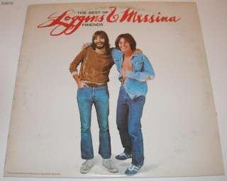 Loggins & Messina   The Best of Friends LP Vinyl 34388