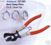 Trident Clic and Clic R Hose Clamp Pliers Swivel Tip.