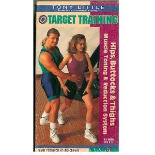 Tony Little   Target Training: Hips, Buttocks & Thighs [VHS]