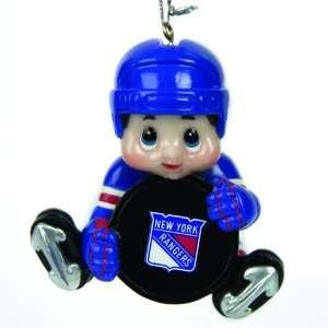 Pack of 3 NHL New York Rangers Little Guy Hockey Player