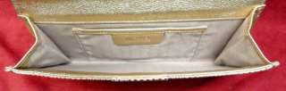 NWT AUTHENTIC MICHAEL KORS SUTTON LG PATENT LEATHER CLUTCH BAG   MSRP$
