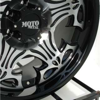 20 inch Black Wheels/Rims Chevy GMC 6 Lug 1500 Truck