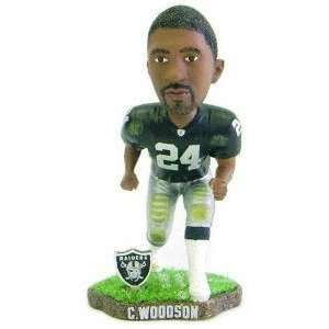 Charles Woodson Game Worn Forever Collectibles Bobblehead