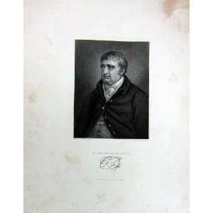 Cooke Taylor 1847 Antique Portrait Charles James Fox