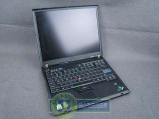 IBM Thinkpad T60 Laptop Core Duo 1.66GHZ/1GB/60GB