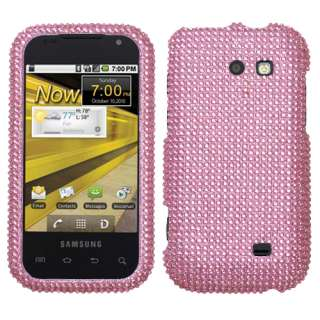 Pink Bling Hard Case Cover For Samsung Transform Accessory