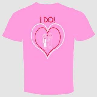 do ! wedding love bride groom marriage t shirt Tee