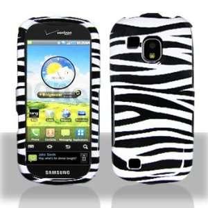 Samsung i400 Coninuum Black Whie Zebra Case Cover Proecor (free