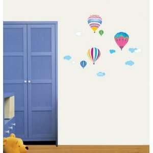 Hot Balloon   Loft 520 Reusable Decoration Wall Sticker