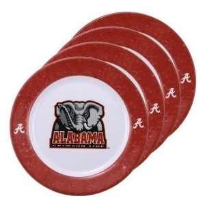 Alabama Crimson Tide NCAA Dinner Plates (4 Pack) by Duck