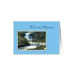 In Loving Memory   Waterfall Card: Health & Personal Care