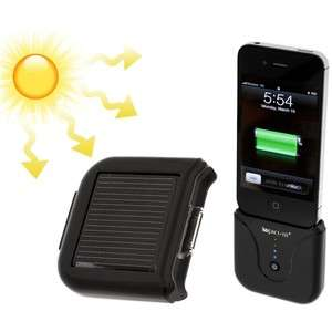 Impact Tel Backup Battery Pack w/ Solar Charge for iPhone iPod