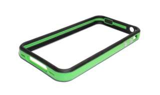 iPhone 4S Green/Black Universal Fit Bumper Case for iPhone4 4S ATT