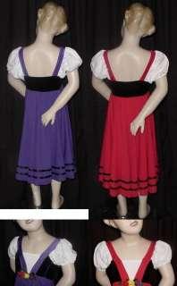 FAIR MAIDENS Lyrical Ballet Dance Costume w/Flaw Read