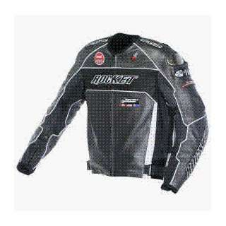 Rocket Speedmaster 5.0 Jacket   52/Gunmetal/White/Black Automotive