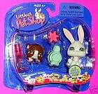 RACEABOUT RANCH 337 338 339 Retired Littlest Pet Shop Horse Set NIB