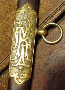 Antique FCB Sword Scabbard Fraternal Knights of Phythias