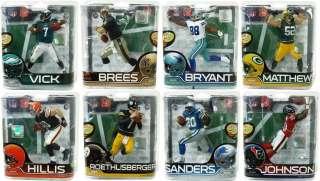 McFarlane NFL Series 28 Figures Set Of 8 *New*