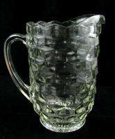 Fostoria American Glass Crystal 1 1/2 Qt 48 Oz Pitcher Water Lemonade