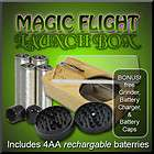 NEW 2011 Magic Flight Launch Box Herb Vaporizer + BONUS