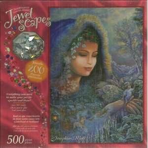 Jewel Scapes Josephine Wall Spirit of Winter 500 Piece