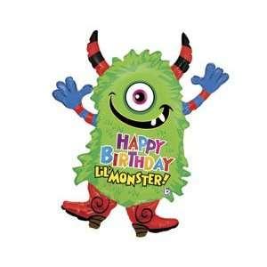 Happy Birthday Little Monster 35 Balloon Health