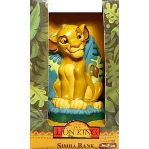 Disneys The Lion King Simba Bank Toys & Games