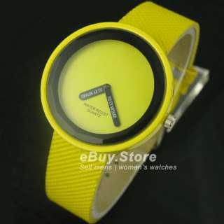 Elegant Big Dial Strap JP Quartz Lady/Men Watch 8 Color