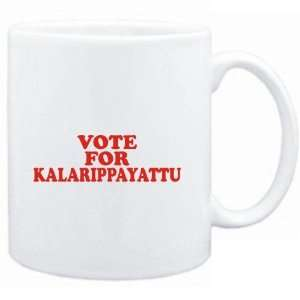 Mug White  VOTE FOR Kalarippayattu  Sports: Sports & Outdoors