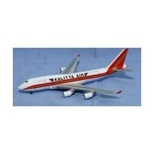 Jet X Kalitta Air Cargo B747 400 Model Airplane Toys