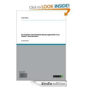 Beziehungsmodelle in Lev Tolstojs Anna Karenina (German Edition