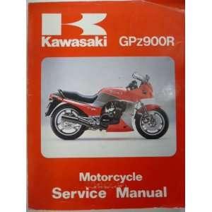Kawasaki GPz900R Motor Service Manual Kawasaki Books