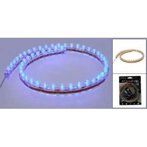 Blue 48 LED Flexible Light Strip Bar Lamp for Car Truck Automotive