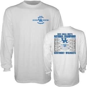 Kentucky Wildcats White 2011 NCAA Basketball National