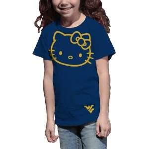 NCAA West Virginia Mountaineers Hello Kitty Inverse Girls