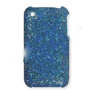 Premium   Apple iPhone 3G/ 3GS Leather Honey Blue   Faceplate   Case