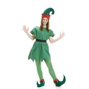 Christmas Elf Hat & Shoes Set Child Costume Accessory