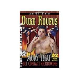 Thai Full Contact Kickboxing 4 DVD Set