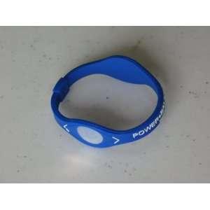 Energy Balance Bracelet Wristband Dark Blue / White Size M