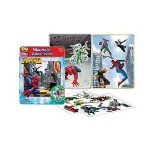 Magnetic Adventures Play Tin: Spider Man: Toys & Games
