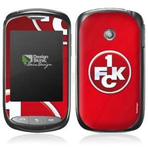Design Skins for LG T310   1. FCK Logo Design Folie