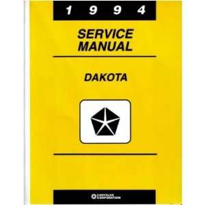 1994 DODGE DAKOTA TRUCK Shop Service Repair Manual Book