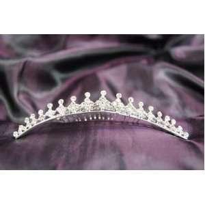 Princess Bridal Wedding Tiara Comb with Crystal C19308