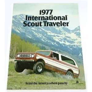 1977 77 International SCOUT TRAVELER Truck BROCHURE