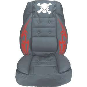 Automotive Accessory SC 11R Racing Seat Cover   Skull, Red Automotive