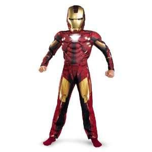 Marvel Comics Iron Man 2 Costume, Boys Size Large (10 12
