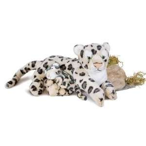 Mom & Totz Snow Leopard 16in Plush Toy Toys & Games