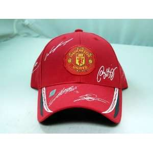 FC MANCHESTER UNITED OFFICIAL TEAM LOGO CAP / HAT   MU002