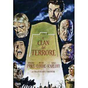 Il Clan Del Terrore Vincent Price, Peter Lorre, Boris